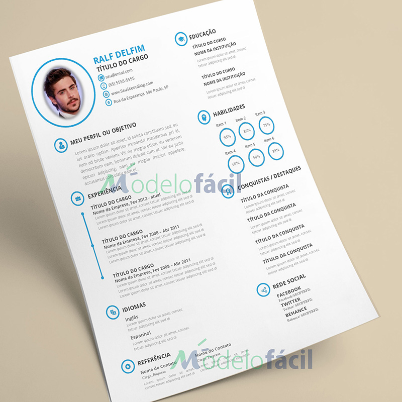 Curriculum vitae en word descargar photo 2