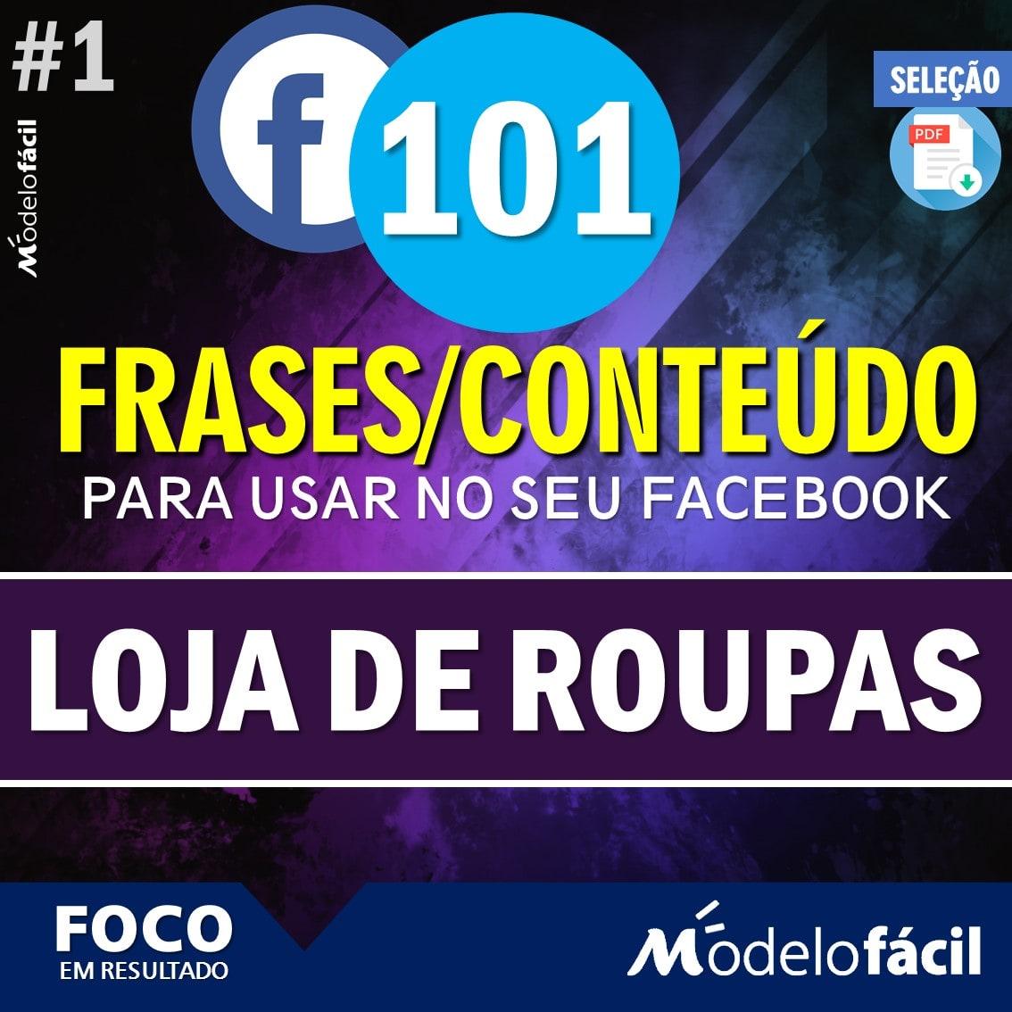 101 Conteúdo Selecionado Loja De Roupas Para Postagens No Facebook Mf89